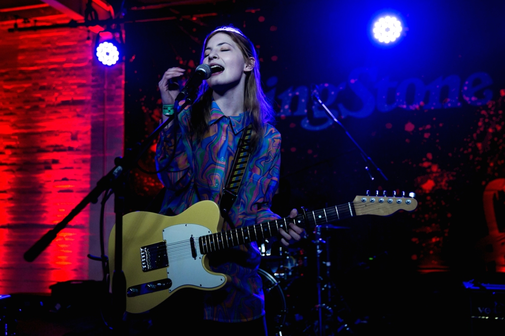 Taylor Janzen kicks off the emerging music showcase at Rolling Stone Live: Austin