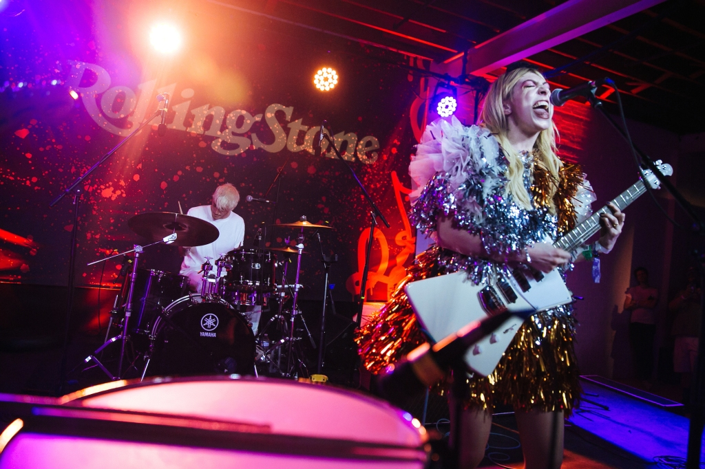 Charly Bliss lit up the stage in a high-energy performance