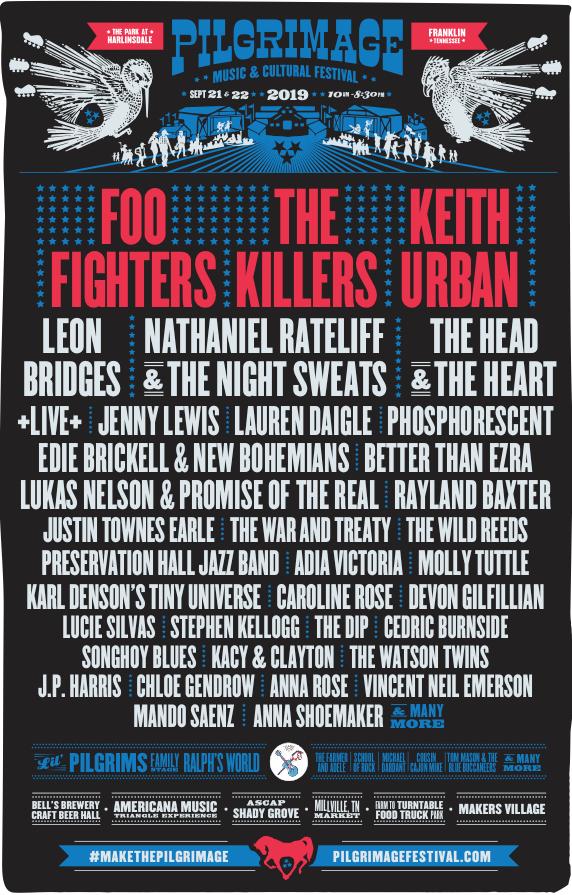Pilgrimage Festival lineup