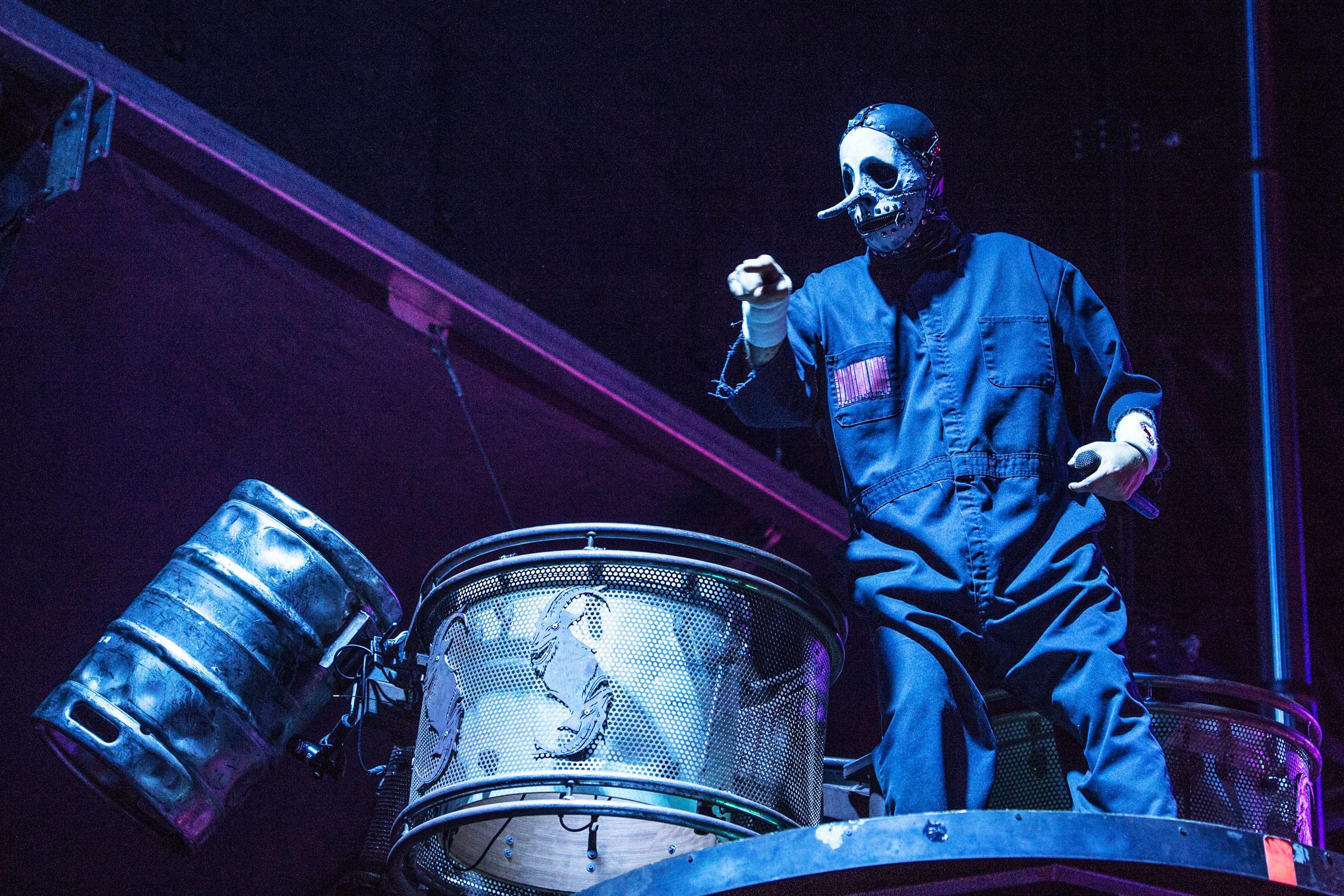 Slipknot Part Ways With Percussionist Chris Fehn Following Lawsuit