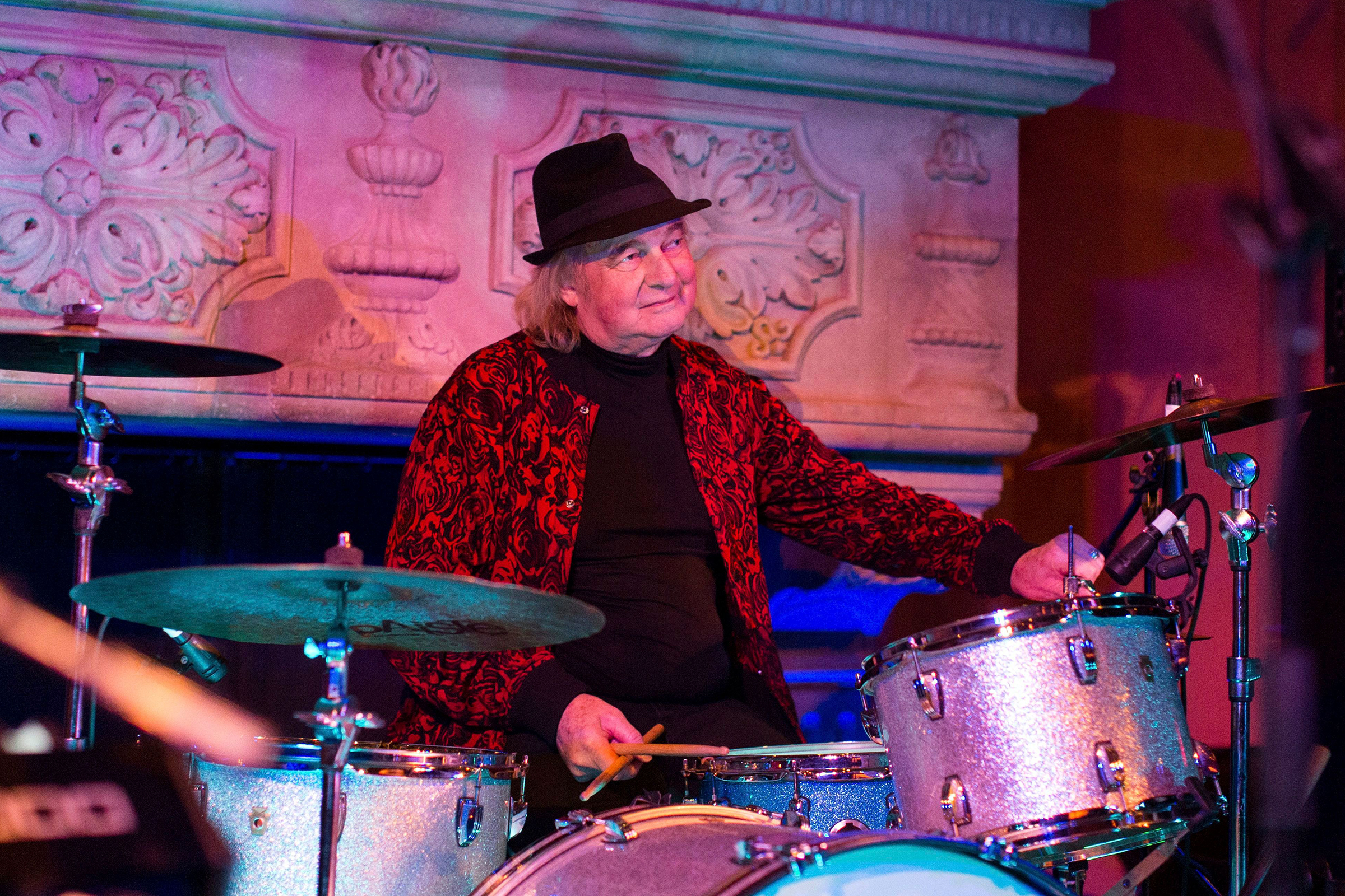 Alan White performs at Jonathan Cain and Friends at Rose Bar on Saturday, April, 8, 2017 in New YorkJonathan Cain and Friends, New York, USA - 8 Apr 2017