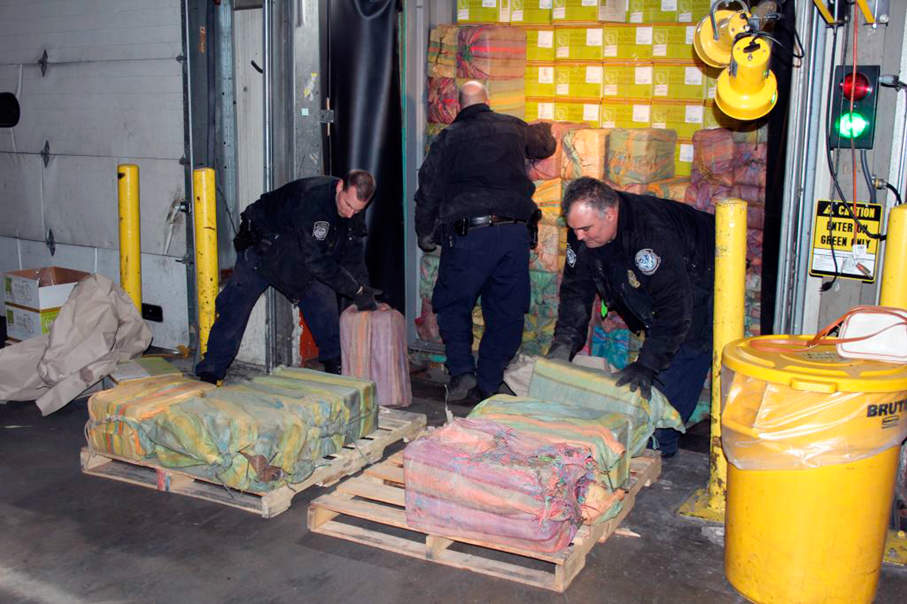 Authorities Seize 3,200 Pounds of Cocaine In Massive Drug