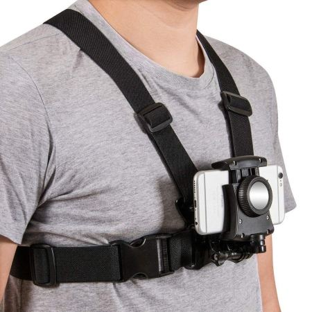 phone harness chest mount