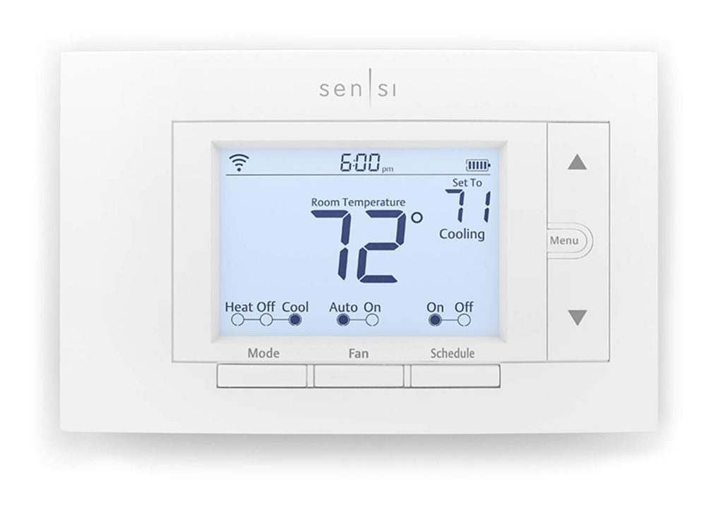 emerson sensi wifi smart thermostat review