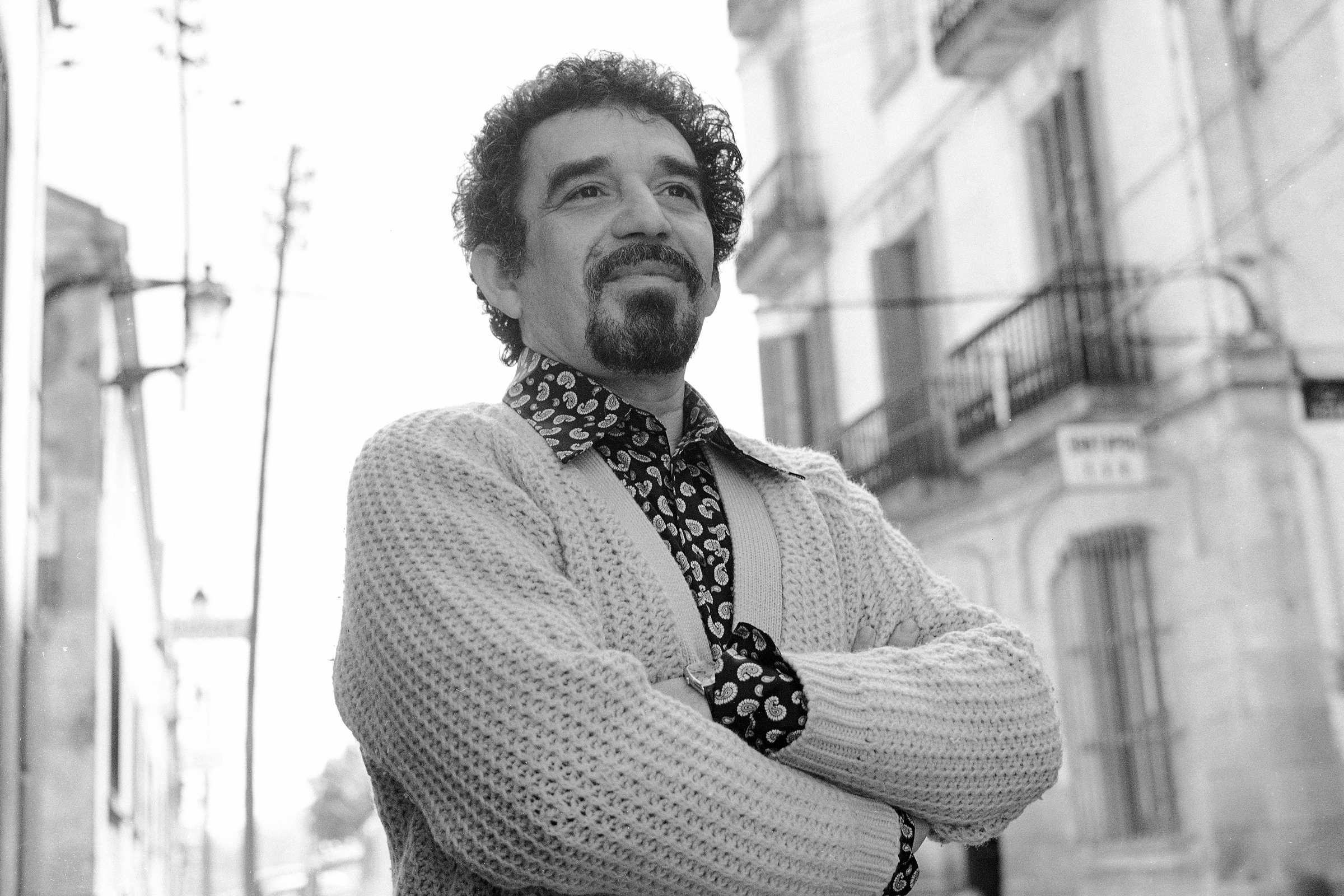 Portrait of Colombian author and journalist Gabriel Garcia Marquez. May 1972. (Photo by Katherine Young/Getty Images)