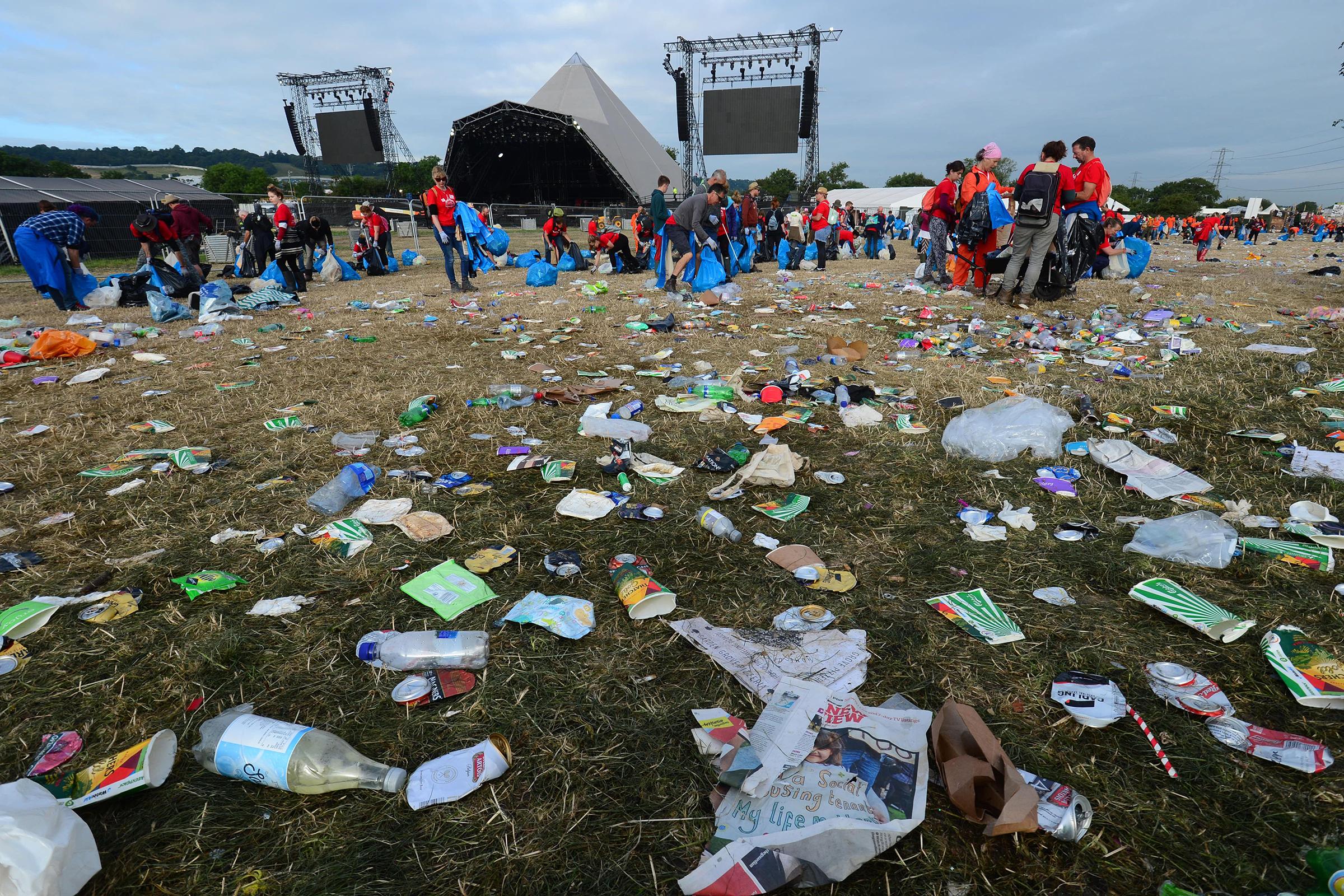 How Glastonbury Is Leading the Plastic-Free Festival Revolution
