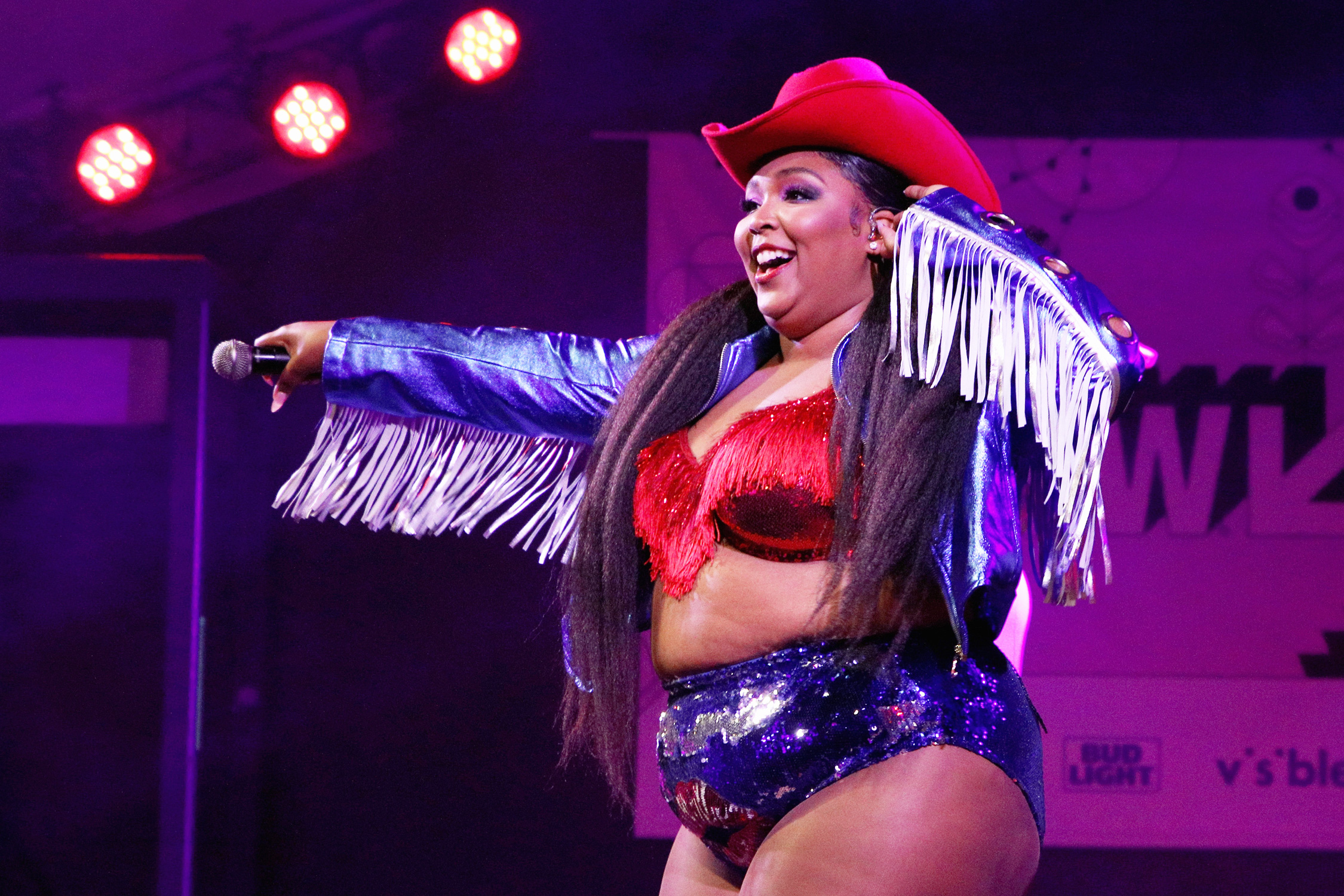 Lizzo performs during the 2019 SXSW Conference and Festivals at Stubb's Bar-B-Q on March 14, 2019 in Austin, Texas.