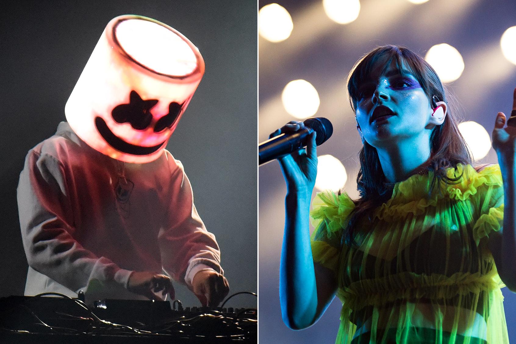 Hear Marshmello Recruit Chvrches for New Song 'Here With Me' - KSPN