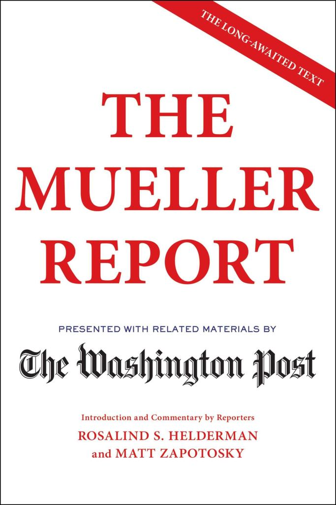 read mueller report online washington post