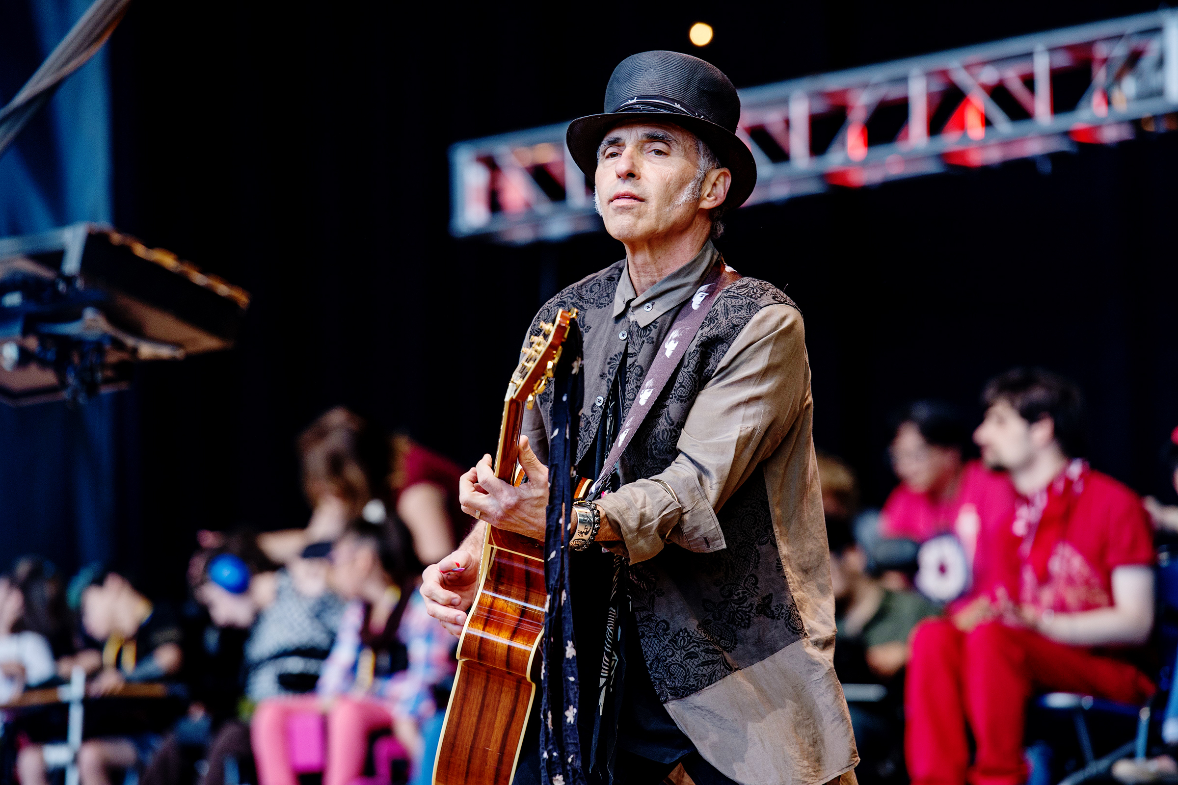 Nils Lofgren performs at the 30th Annual Bridge School Benefit Concert at the Shoreline Ampthitheatre, in Mountain View, Calif30th Annual Bridge School Benefit Concert - Day 2, San Francisco, USA