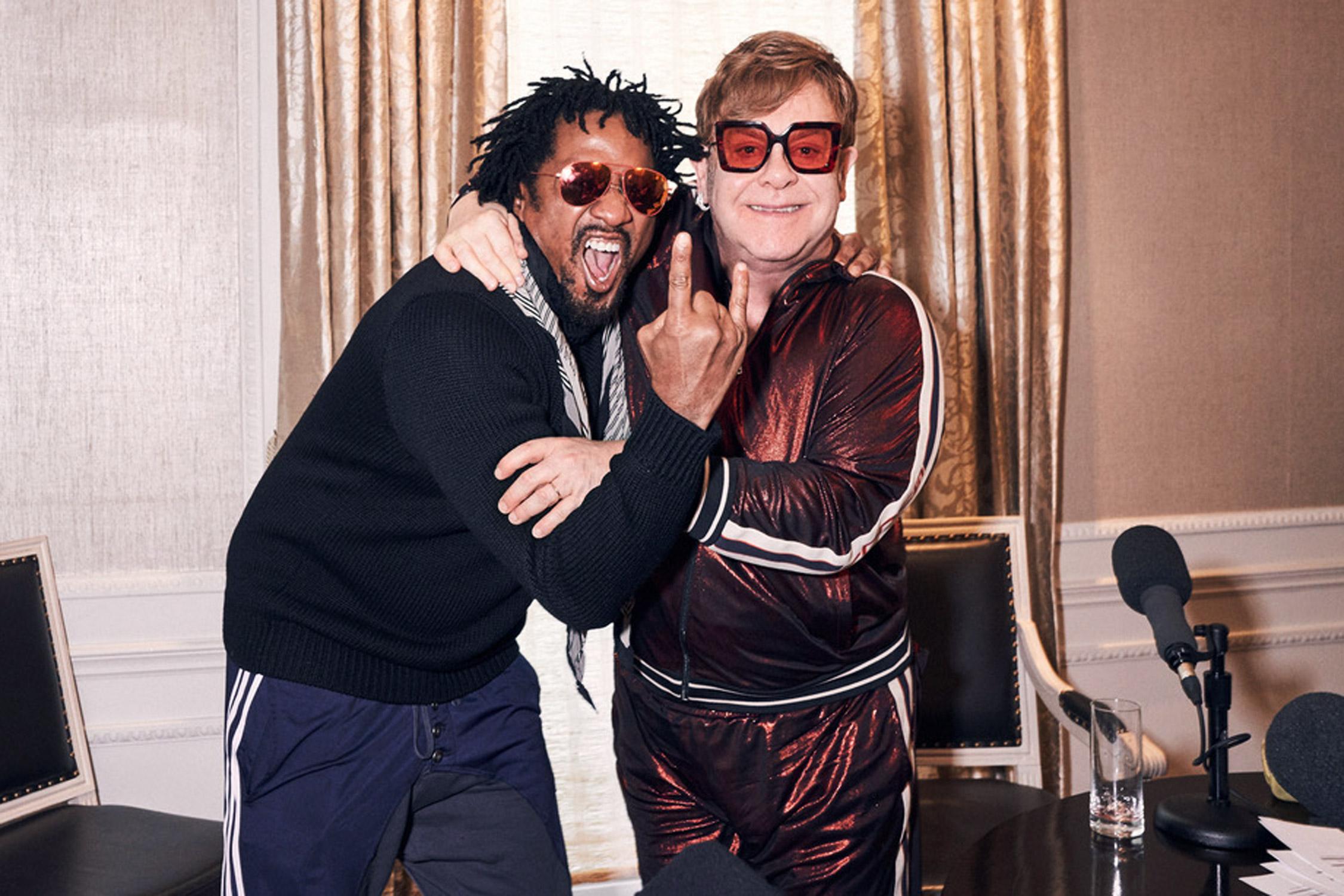 Elton John Is a Huge Tribe Called Quest Fan