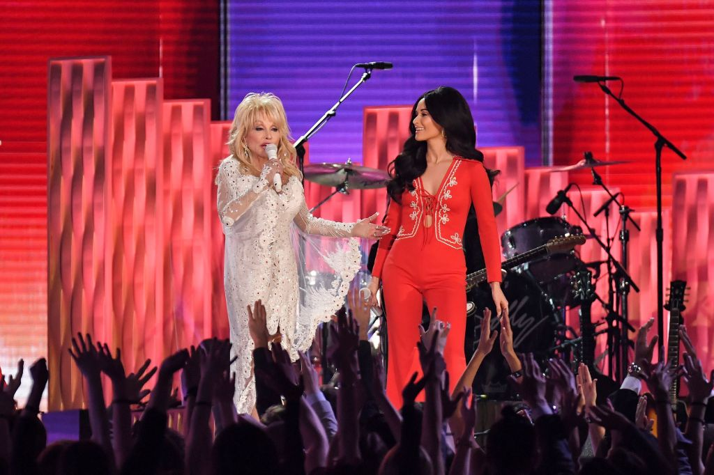 Dolly Parton and Kacey Musgraves61st Annual Grammy Awards, Show, Los Angeles, USA - 10 Feb 2019