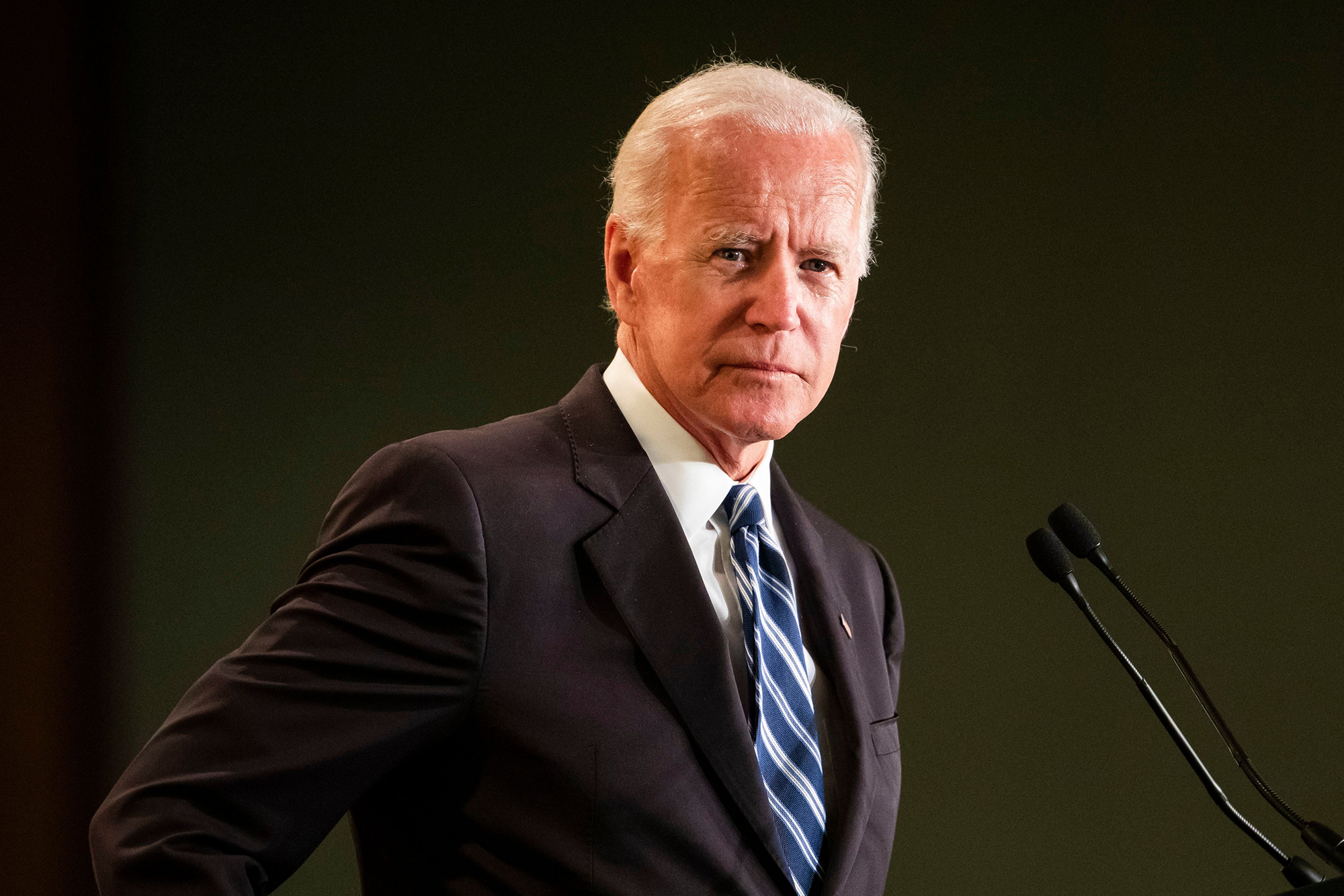 Biden Accidentally Says He's Running, Crowd Chants 'Run, Joe, Run!'