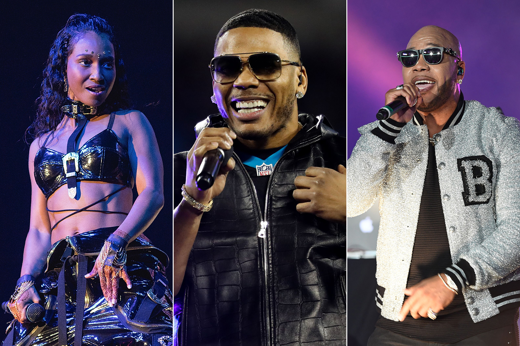 TLC, Nelly, Flo Rida Team for Summer Amphitheater Tour ...