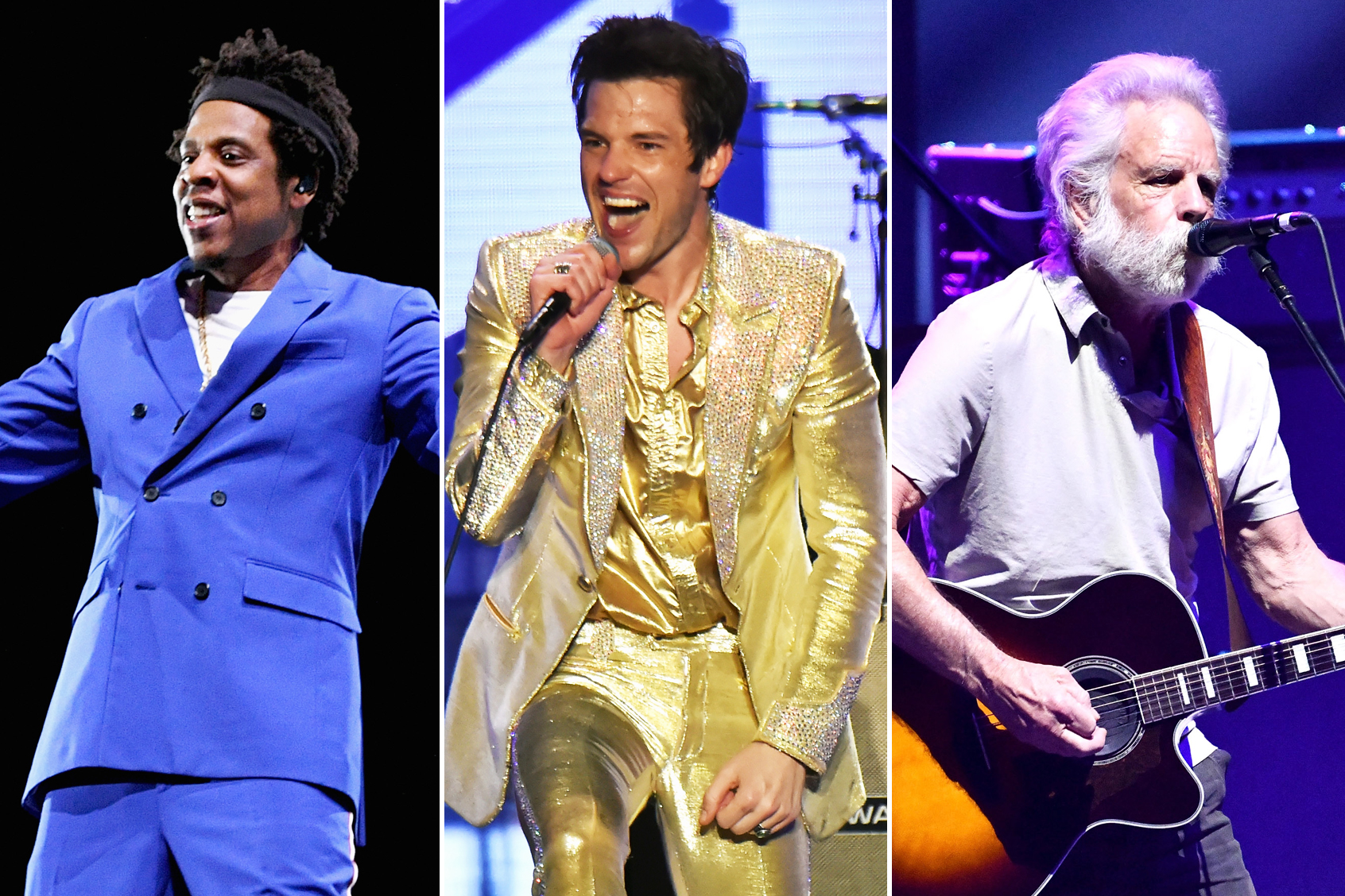 Woodstock 50: Jay Z, The Killers, Dead and Co