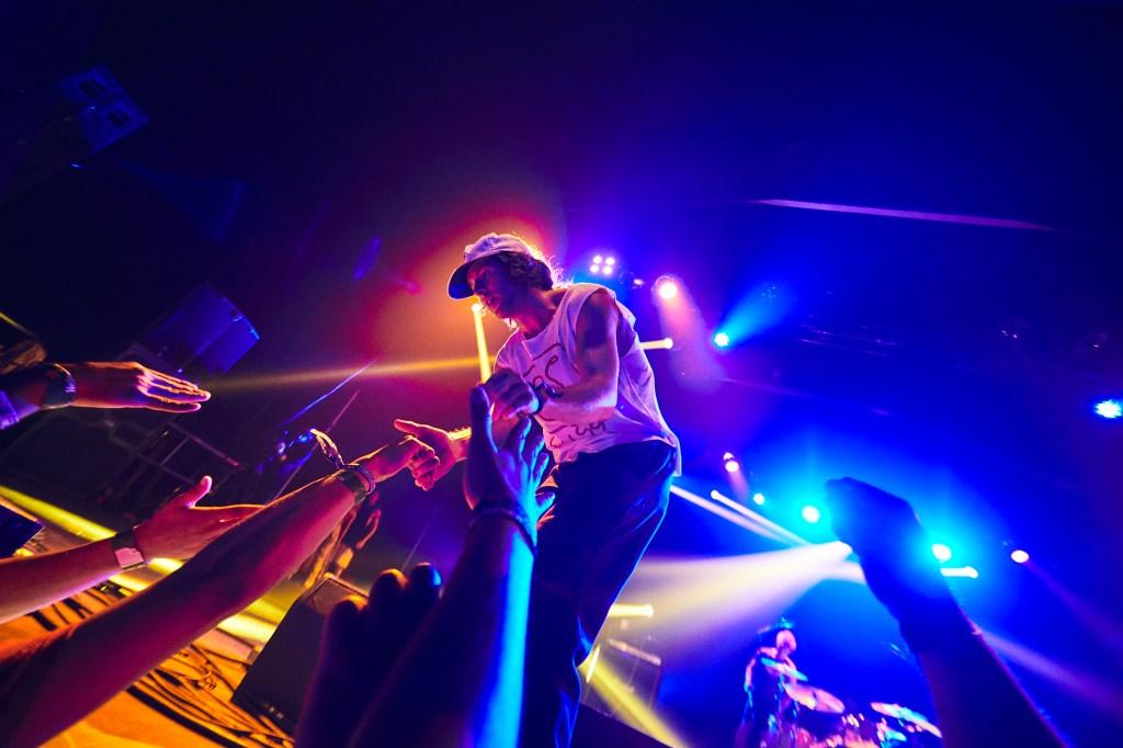 Turnstile performs at Coachella on April 12, 2019.