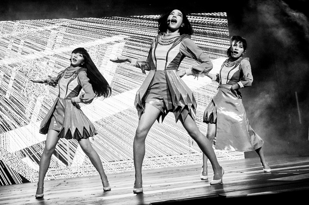 Perfume were the first J-popgirl group to perform at Coachella.