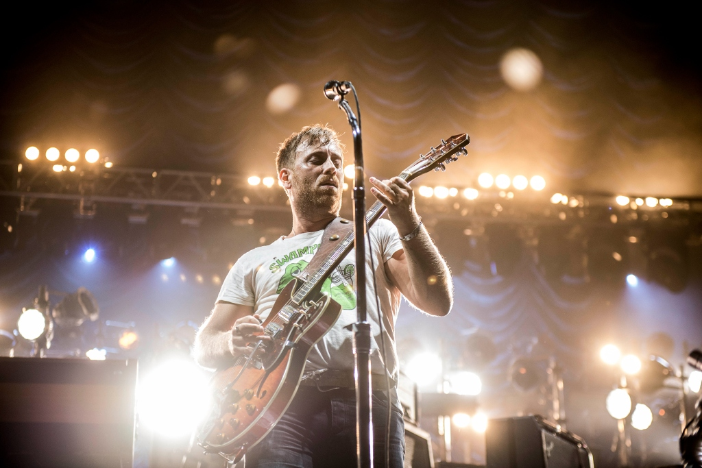 Dan Auerbach performs with the Black Keys in 2014. Photograph by Sacha Lecca