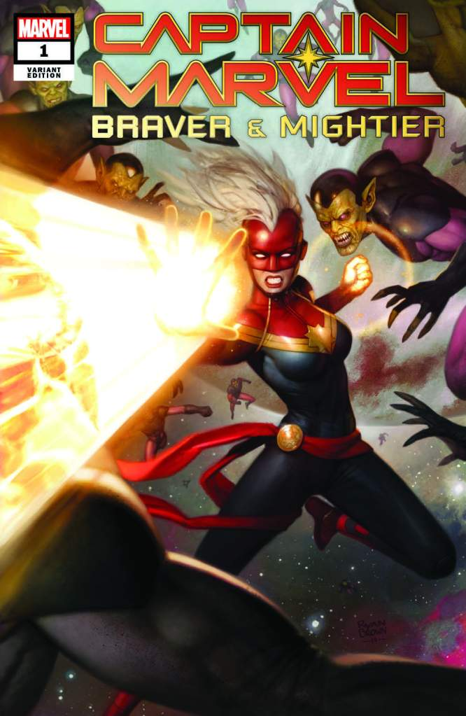 captain marvel braver mightier comic book