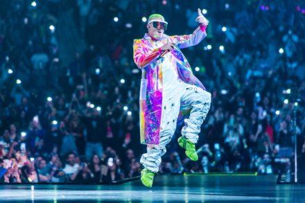 Bad Bunny Flies, Evokes Pan-Latinx Pride at Madison Square