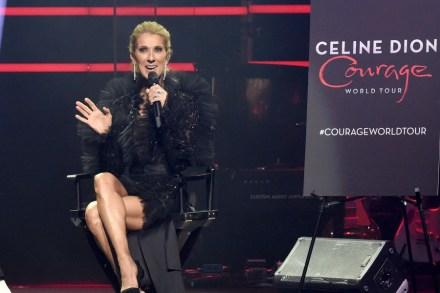 Celine Dion Details 'Courage' Album, Tour at Fan Event