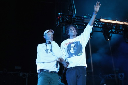 Pharrell Enlists Jay-Z, Diddy, Snoop for Something in the