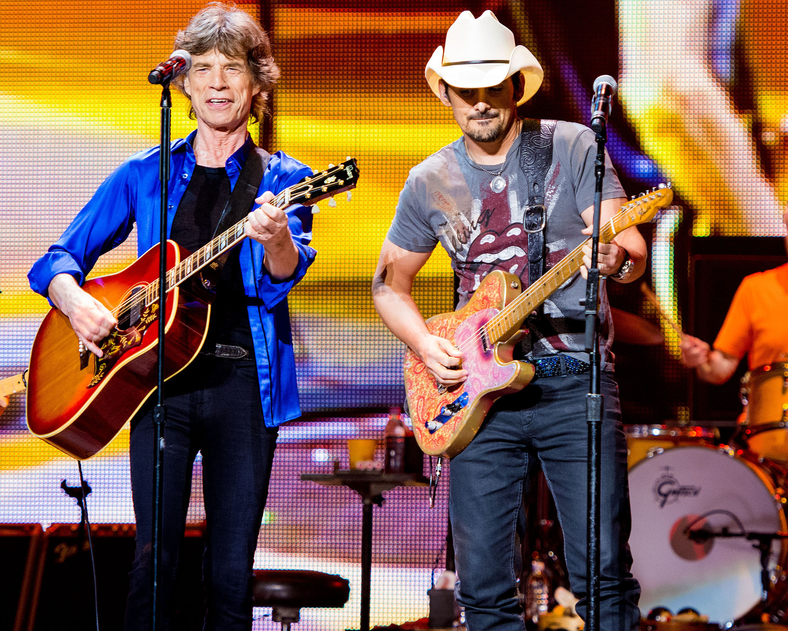 Hear Brad Paisley Join the Rolling Stones for 'Dead Flowers' on New Compilation