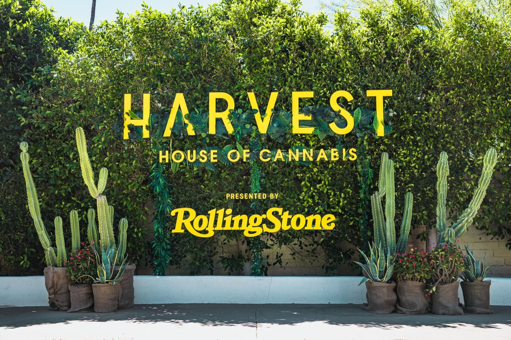 Harvest House of Cannabis popped up in a secret location in Palm Springs