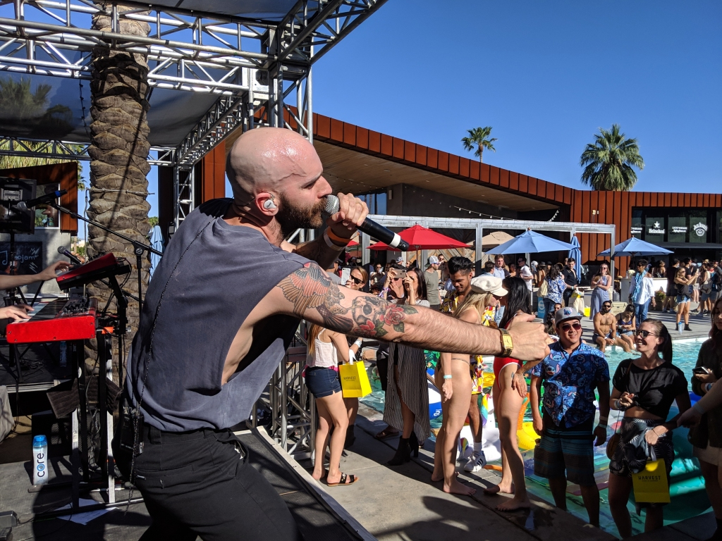 American rockers X Ambassadors take the stage for an epic performance Captured on Google Pixel 3
