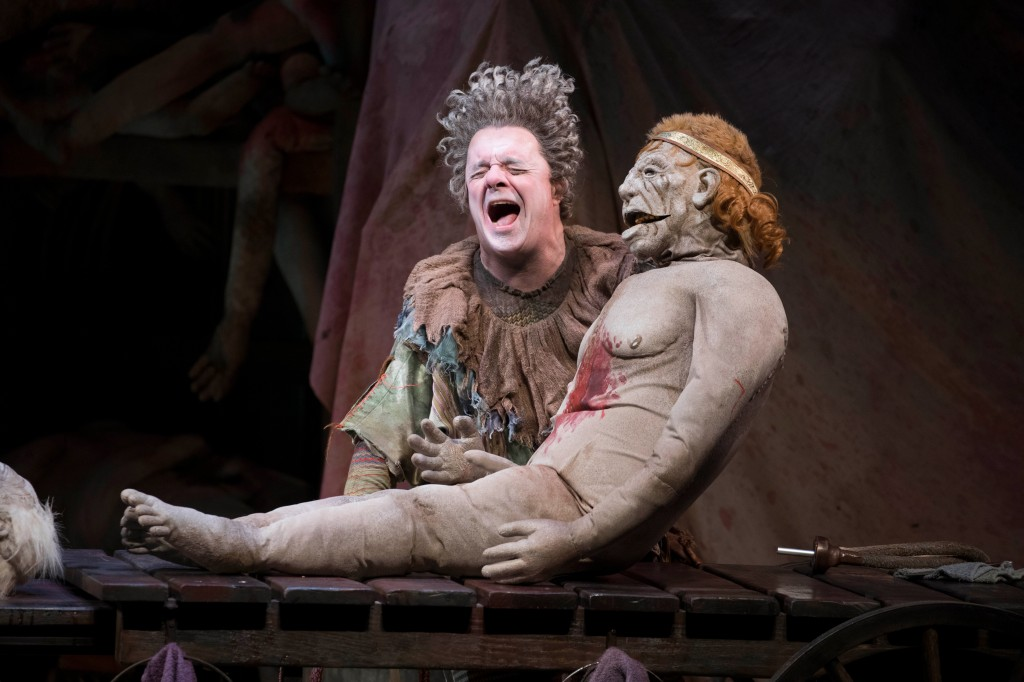 Nathan Lane stars in 'Gary: A Sequel to Titus Andronicus' on Broadway