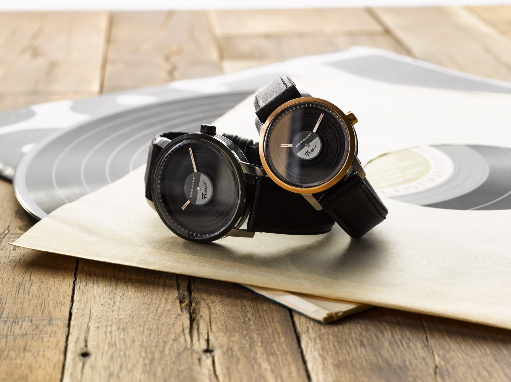 fossil watches crosley record store day