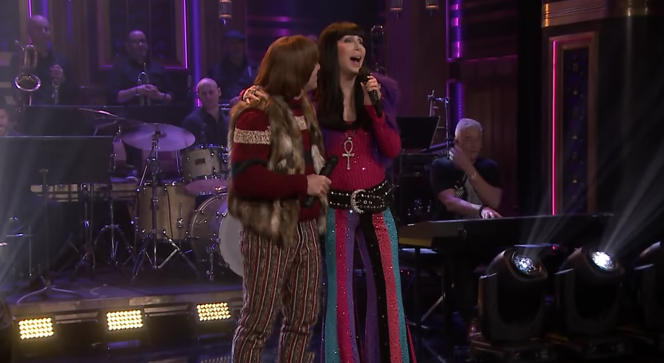Watch Cher Perform 'I Got You Babe' on 'Fallon'