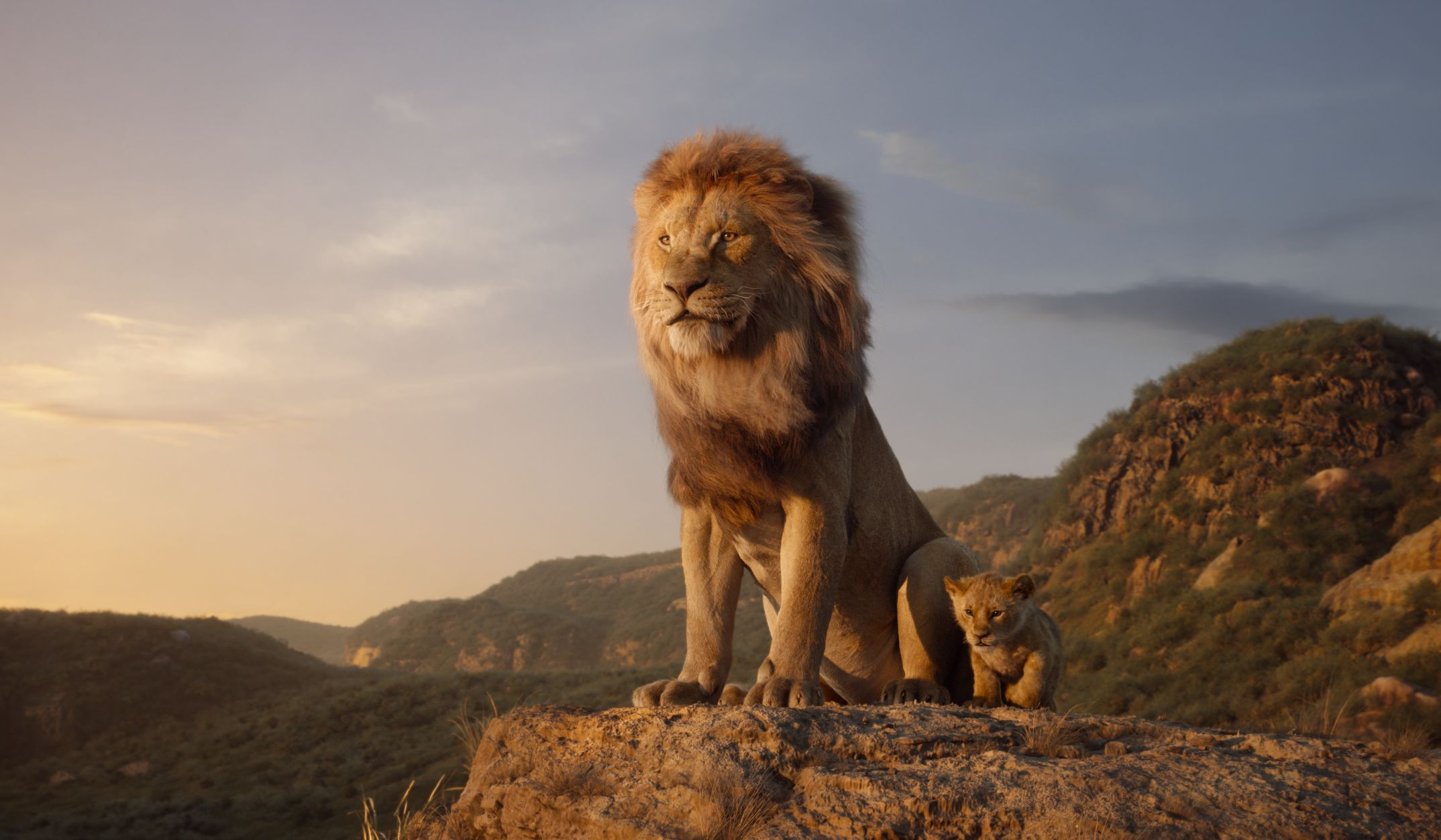 u2018the lion king u2019  see simba face menacing uncle scar in new