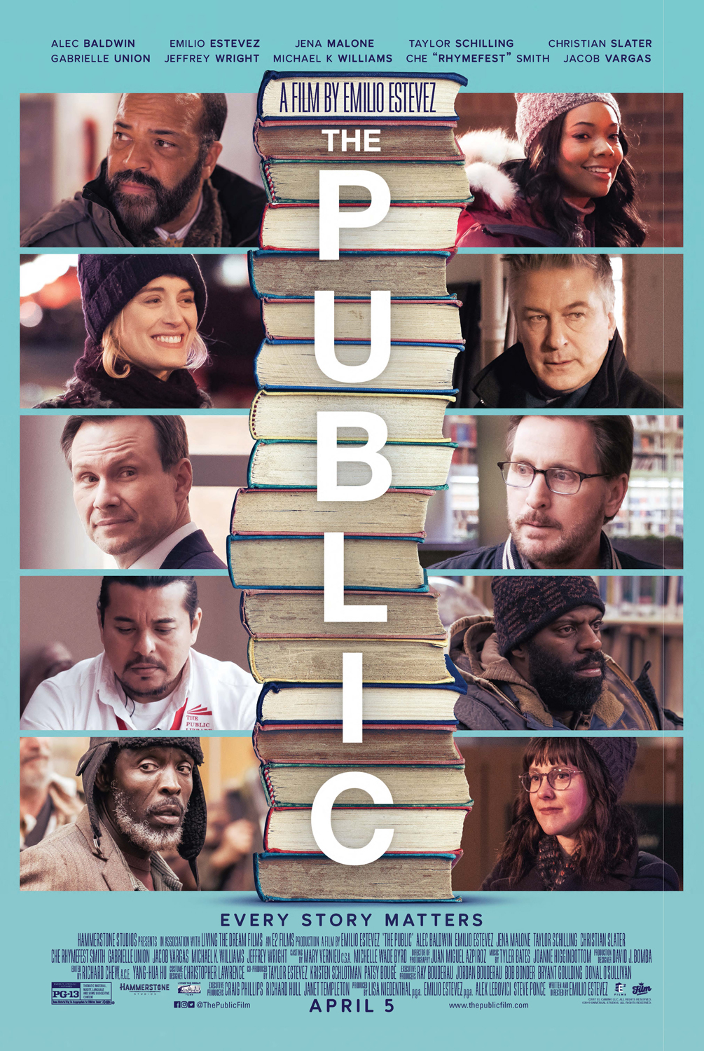 The Public' Movie Review: Life, Liberty and a Library For