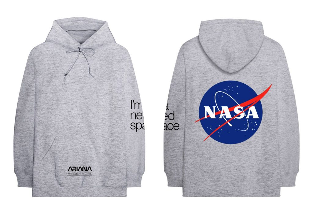 ariana grande coachella merch buy online nasa