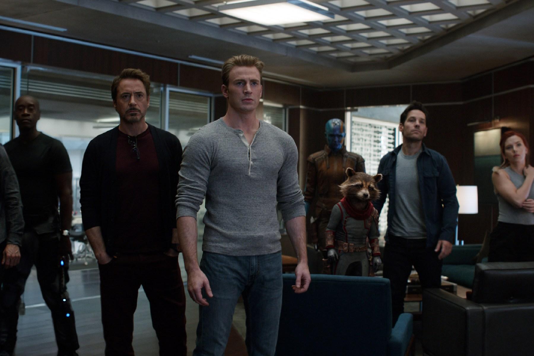 """""""Avengers: Endgame"""" cast"""