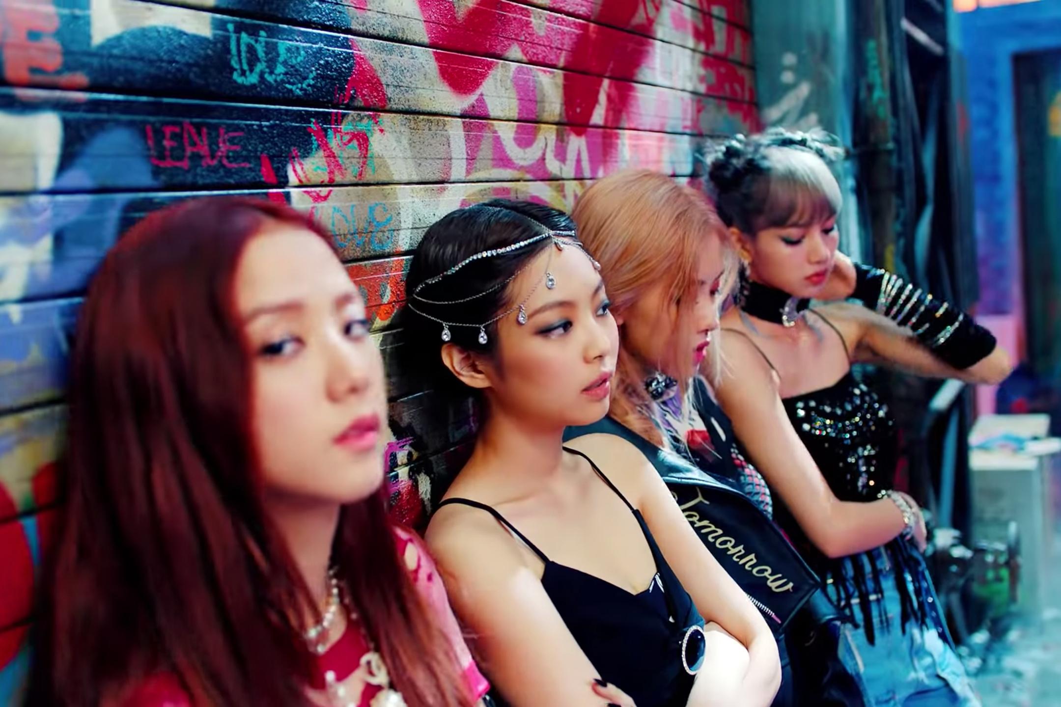 K-Pop Stars Blackpink Release 'Kill This Love' Video