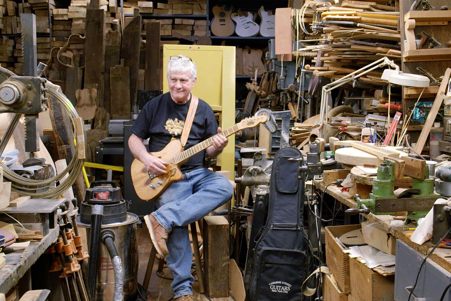 'Carmine Street Guitars' Review: Ballad of an Unsung NYC Musical Hero