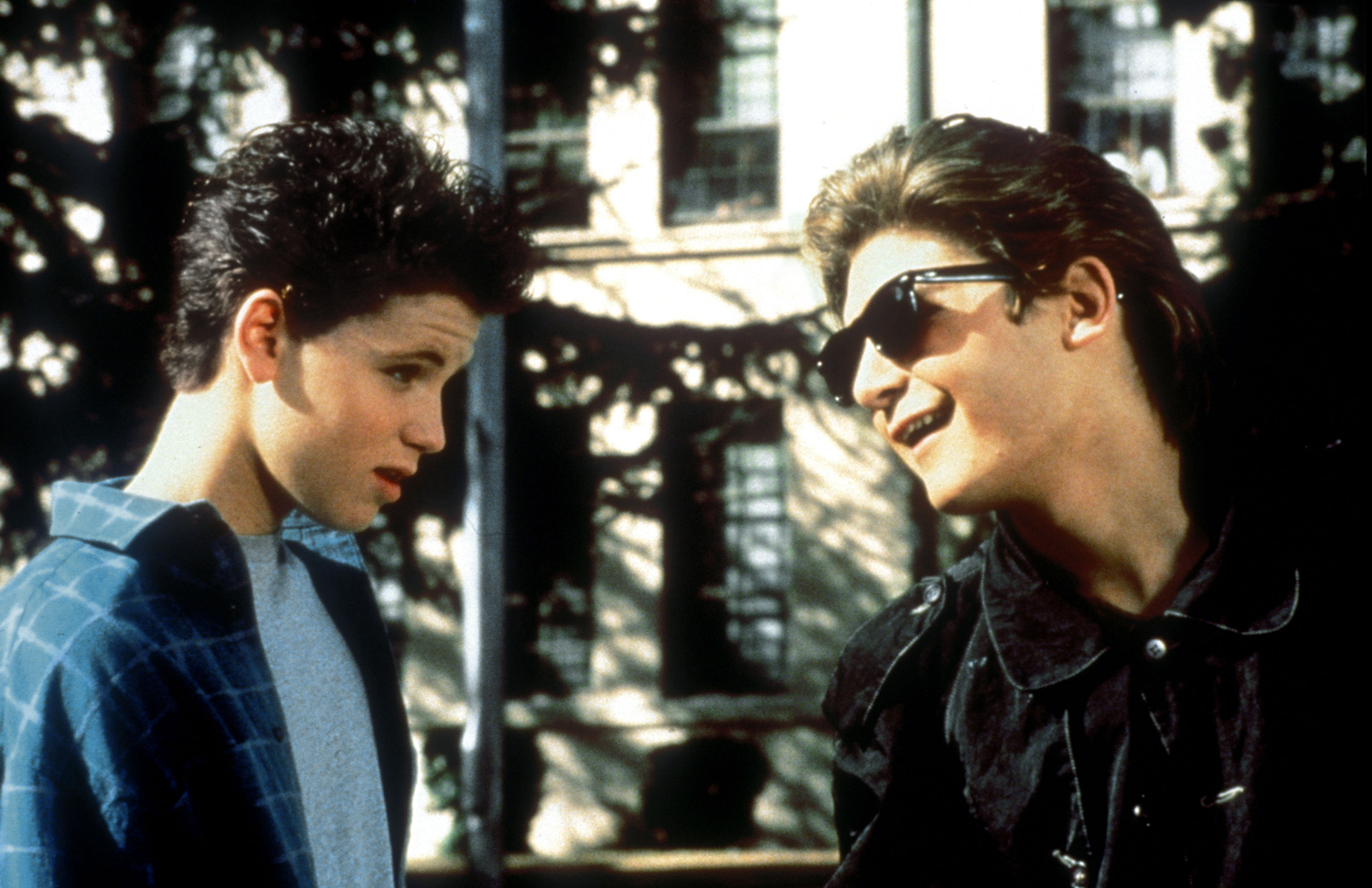 Corey Haim, Corey Feldman in License To Drive (1988)Photo: 20th Century Fox/Kobal/REX/Shutterstock