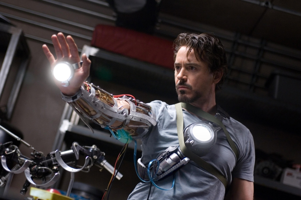 Editorial use only. No book cover usage.Mandatory Credit: Photo by Marvel/Paramount/Kobal/REX/Shutterstock (5886260ab) Robert Downey Jr Iron Man - 2008 Director: Jon Favreau Marvel/Paramount USA Scene Still Animation Ironman