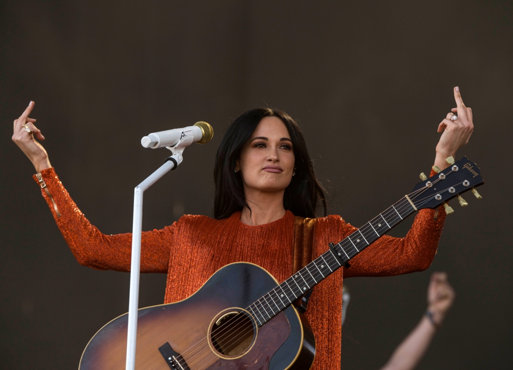 Kacey Musgraves performs at Coachella on April 12, 2019.