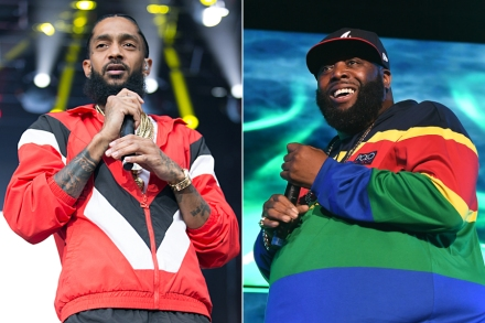 Killer Mike Honors Nipsey Hussle at Atlanta Memorial Service