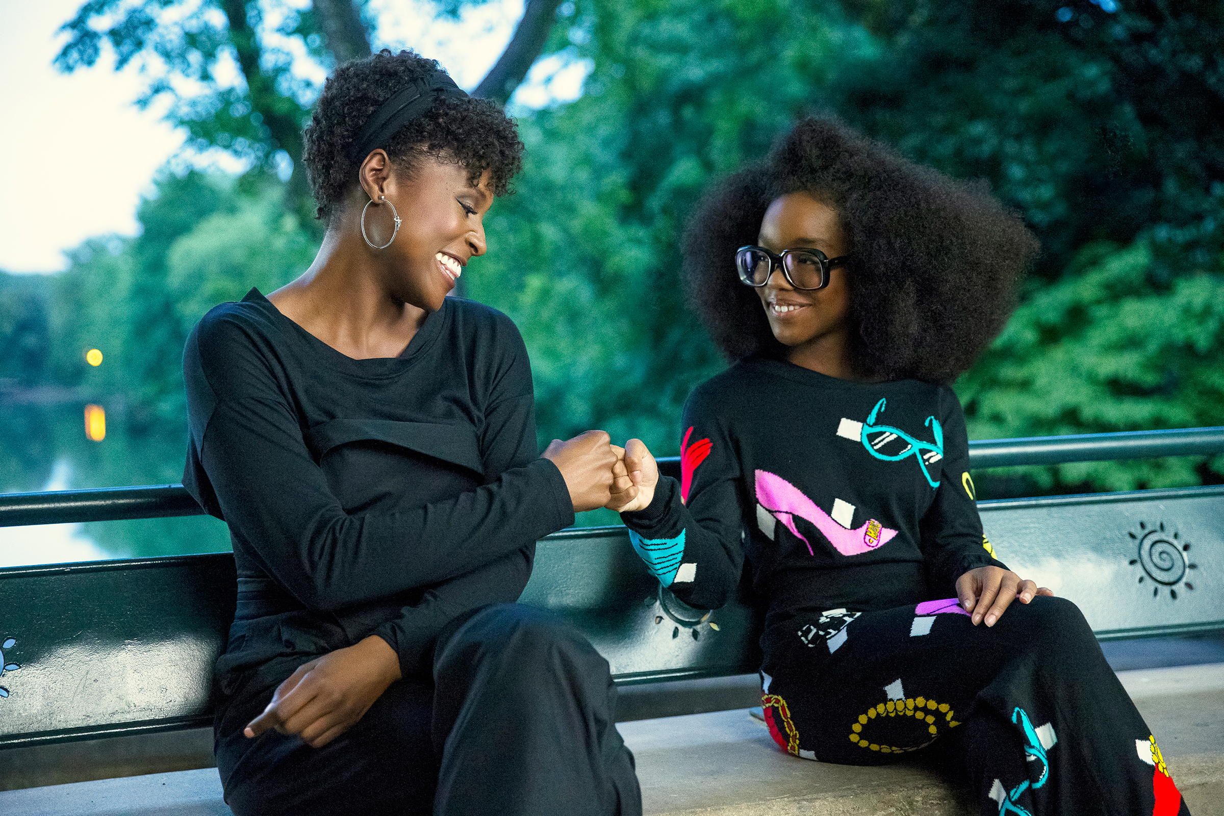 """(from left) April Williams (Issa Rae) and little Jordan Sanders (Marsai Martin) in """"Little,"""" co-written and directed by Tina Gordon."""