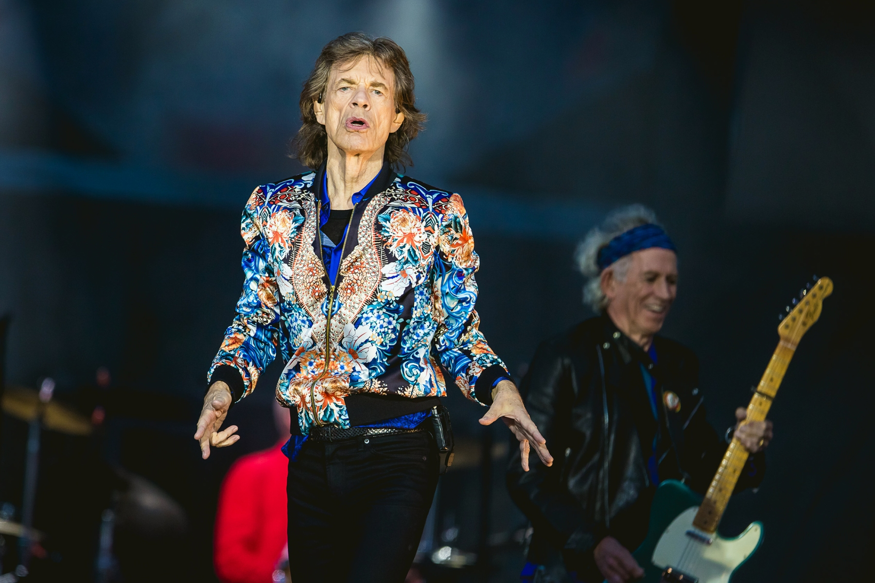 The Rolling Stones - Mick JaggerThe Rolling Stones in concert at Old Trafford, Manchester, UK - 05 Jun 2018