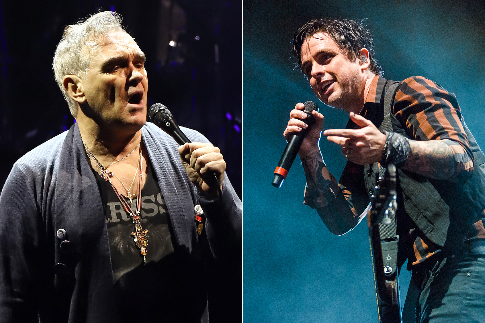 Hear Morrissey S New Song With Green Day Billie Joe Armstrong Rolling Stone