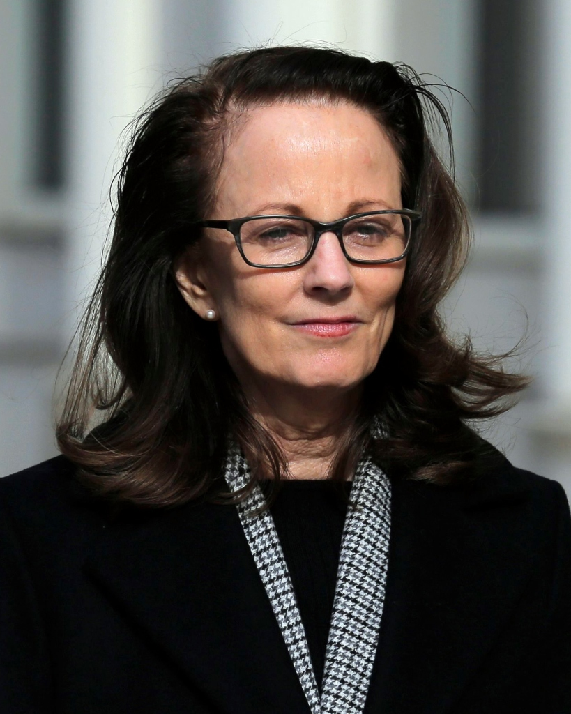 "Kathy Russell leaves Brooklyn federal court in New York, . Russell is among defendants from NXIVM, a self-help group charged with coercing women to be a part of a secret sub-group where they were expected to act as ""slaves"" and engage in sex actsBranded Women, New York, USA - 28 Jan 2019"