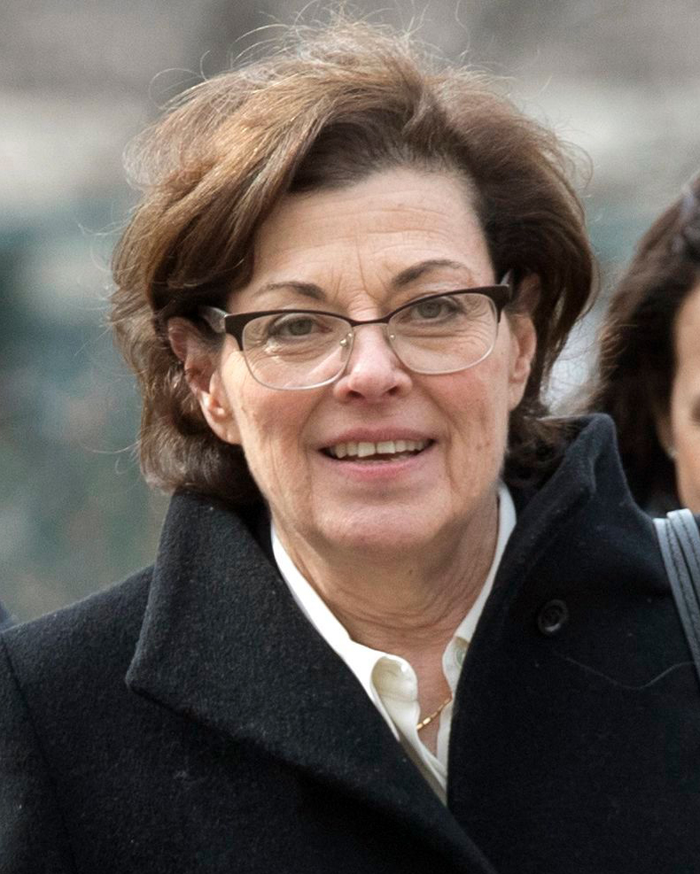 Nancy Salzman arrives at Brooklyn federal court, in New York. Salzman, a co-founder of NXIVM, an embattled upstate New York self-help organization, is expected to plead guilty in a case featuring sensational claims that some followers became branded sex slavesBranded Women, New York, USA - 13 Mar 2019