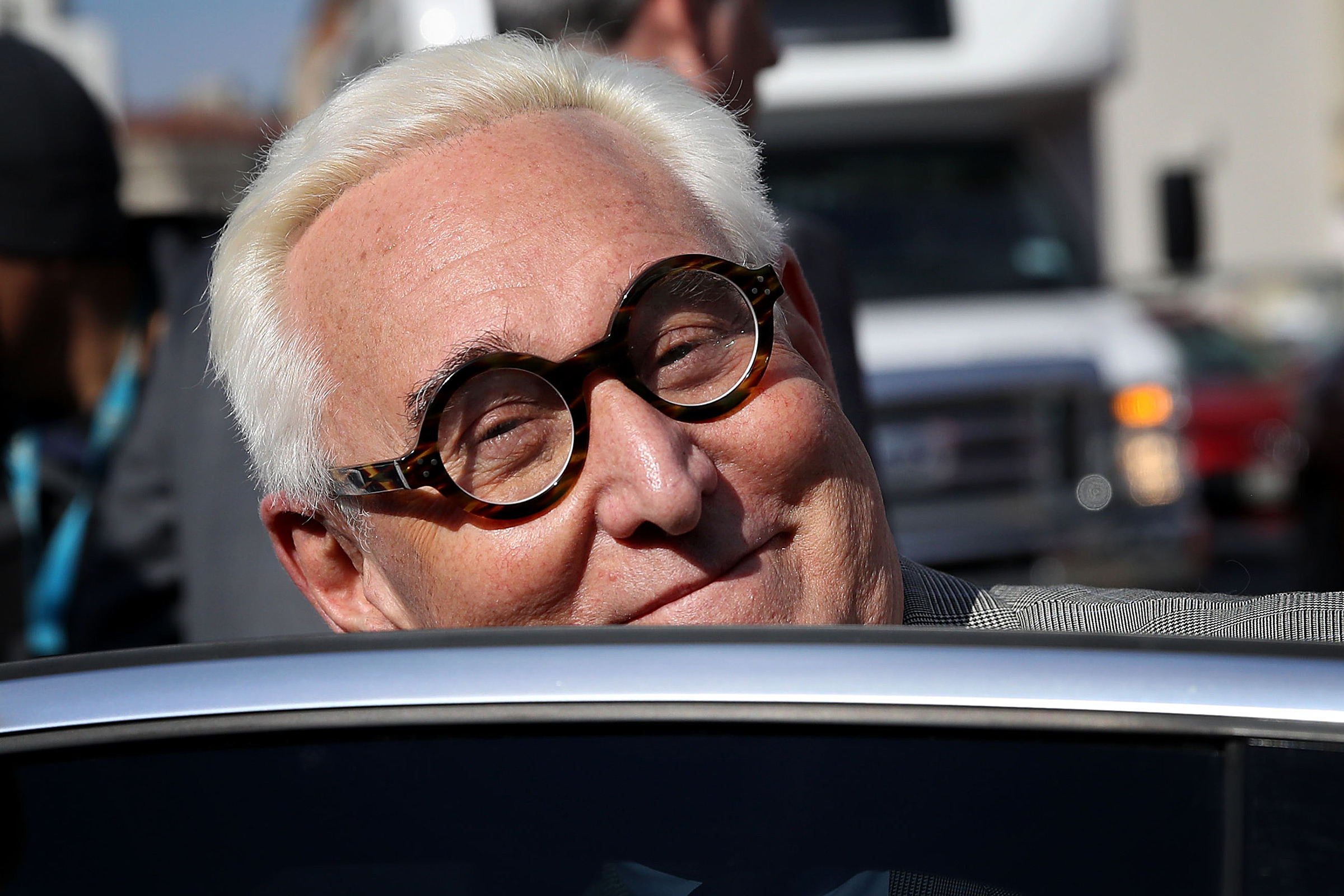 Of Course Roger Stone Is Making Personal Appearances at Strip Clubs