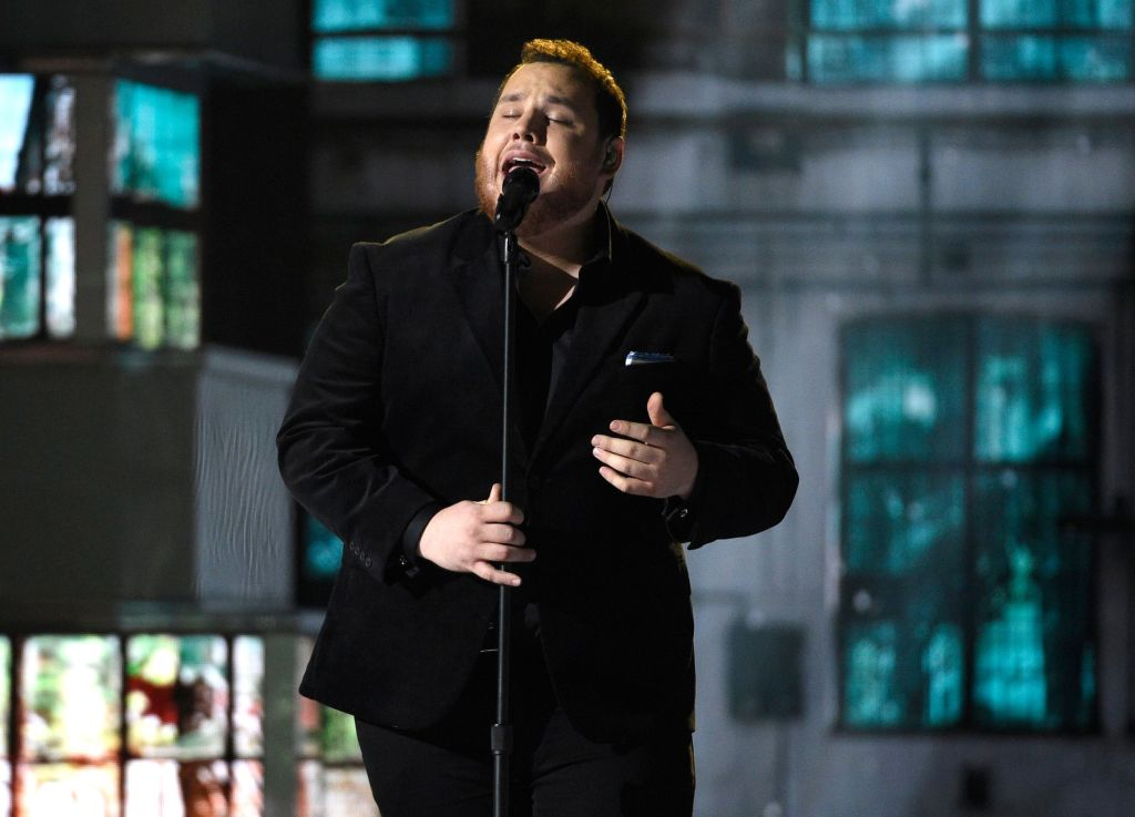 Luke Combs performs at the 54th annual Academy of Country Music Awards at the MGM Grand Garden Arena, in Las Vegas54th Annual Academy of Country Music Awards - Show, Las Vegas, USA - 07 Apr 2019
