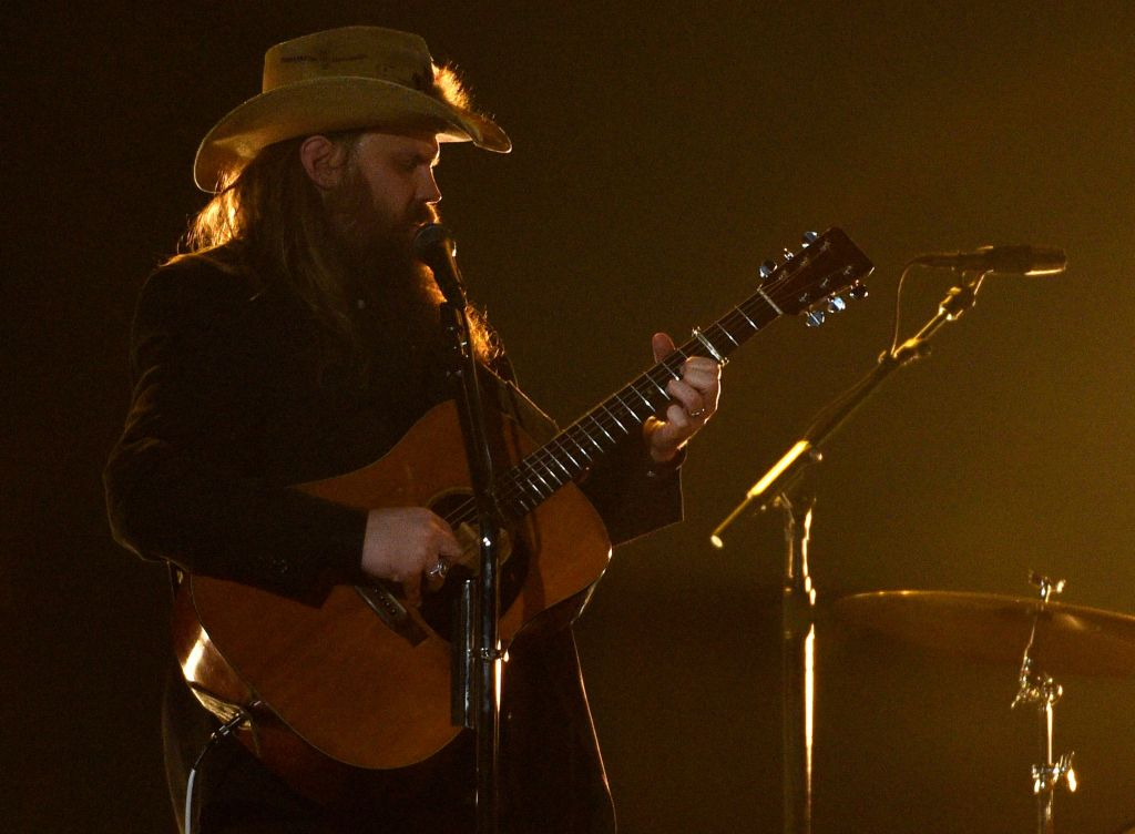 "Chris Stapleton performs ""A Simple Song"" at the 54th annual Academy of Country Music Awards at the MGM Grand Garden Arena, in Las Vegas54th Annual Academy of Country Music Awards - Show, Las Vegas, USA - 07 Apr 2019"